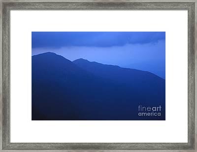 Presidential Range - White Mountains Nh Usa Framed Print by Erin Paul Donovan