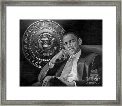 Presidential Seal Framed Print by Raoul Alburg