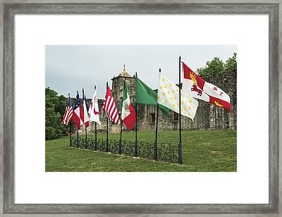 Presidio La Bahia In Goliad Framed Print by Carol M Highsmith