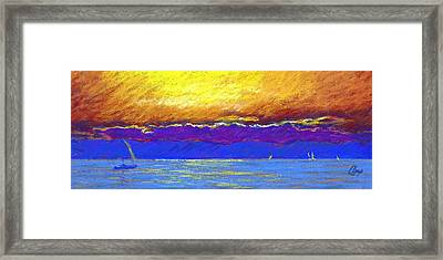 Presque Isle Bay Framed Print by Michael Camp