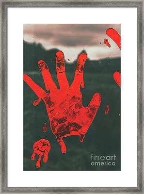 Pressing Terror Framed Print by Jorgo Photography - Wall Art Gallery