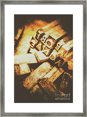Pressing The Hegelian Dialectic   Framed Print by Jorgo Photography - Wall Art Gallery