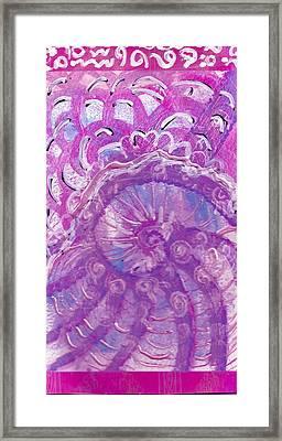 Pretty And Sweet Framed Print by Anne-Elizabeth Whiteway