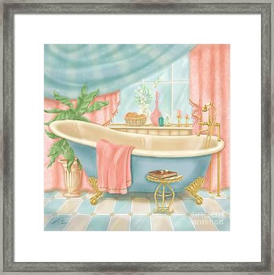 Pretty Bathrooms I Framed Print by Shari Warren