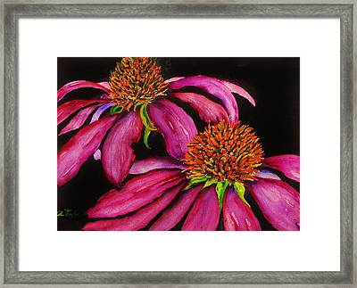 Pretty In Pink Framed Print by Lil Taylor
