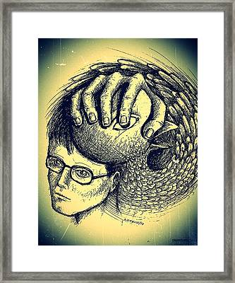 Prevent The Free Expression Framed Print by Paulo Zerbato