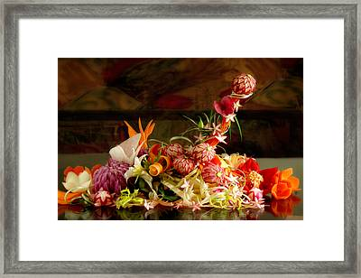 Priapos' Temptation Framed Print by John Poon