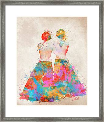 Pride Not Prejudice Framed Print by Nikki Marie Smith