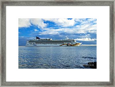 Pride Of Hawaii Framed Print by Inga Spence