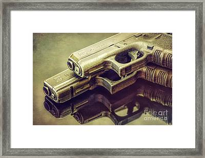 Primary And Backup Framed Print by Joe Geraci