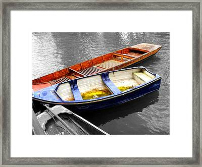 Selective Coloring Framed Print featuring the photograph Primary Colors by Roberto Alamino