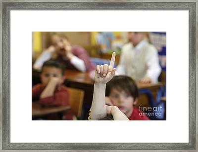 Primary School Framed Print by Godong