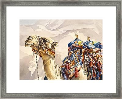 Prince Of The Desert Framed Print by Beth Kantor