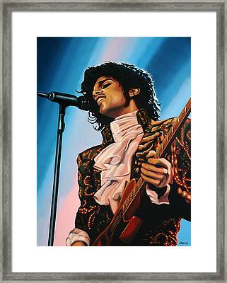 Prince Painting Framed Print by Paul Meijering