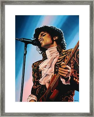 Prince Painting Framed Print by Paul Meijering
