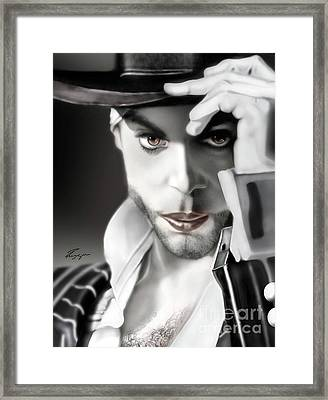 Prince The Eyes Have It 1a Framed Print by Reggie Duffie