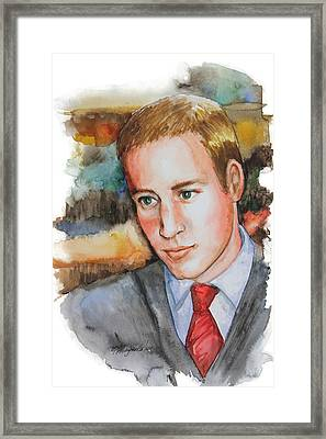 Prince William Framed Print by Patricia Allingham Carlson