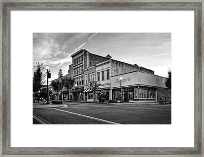 Princess And Front In Black And White Framed Print by Greg Mimbs