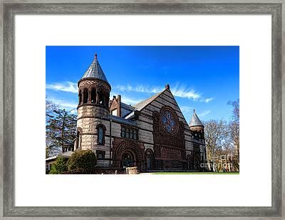 Princeton University Alexander Hall  Framed Print by Olivier Le Queinec