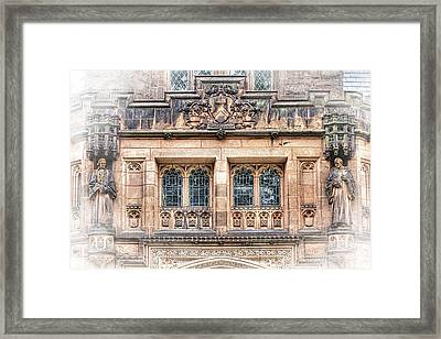 Princeton University Building  Framed Print by Geraldine Scull