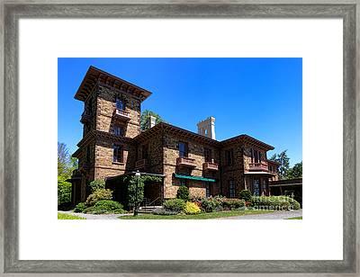 Princeton University Prospect House Framed Print by Olivier Le Queinec
