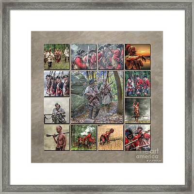 Print Collection French And Indian War Framed Print by Randy Steele
