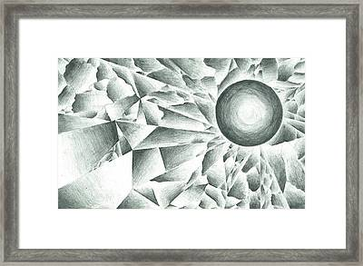 Prismatic Eclipse Framed Print by Ty DAvila