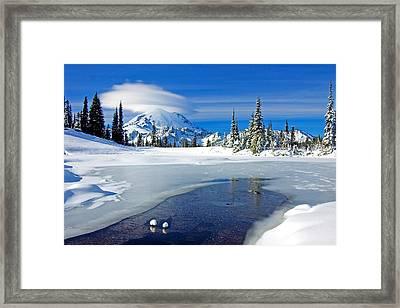 Pristine Framed Print by Mike  Dawson
