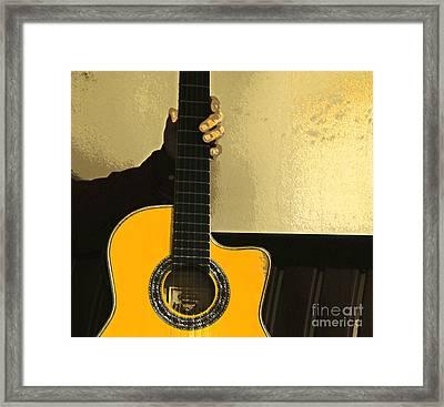 Prized Possession Framed Print by Joe Jake Pratt