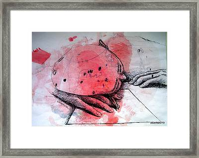 Process Of Inspiration Framed Print by Paulo Zerbato