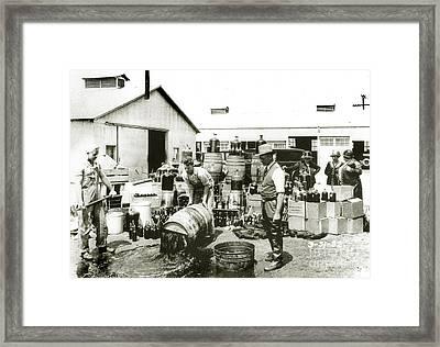 Prohibition Agents Framed Print by Jon Neidert