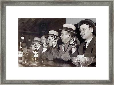 Prohibition Ends Dec 5, 1933 Framed Print by Daniel Hagerman
