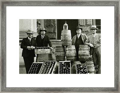 Prohibition Officers Framed Print by Jon Neidert