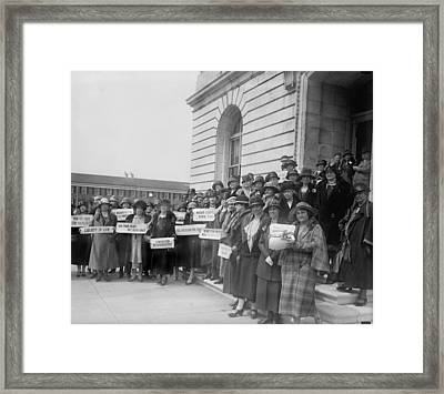 Prohibition, Women From New Jersey Framed Print by Everett