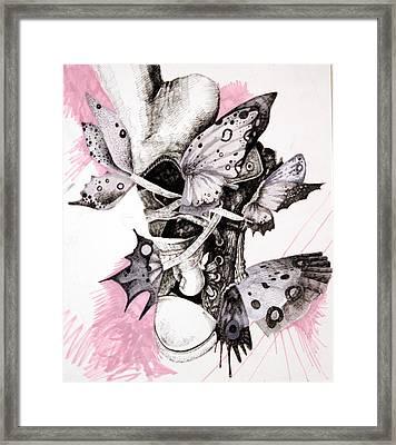 Project Set Me Free Framed Print by Beka Burns