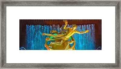 Prometheus Sculpture Framed Print by Art Spectrum