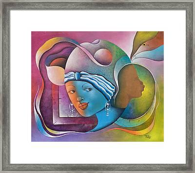 Prophetic Dream Framed Print by Herold Alvares