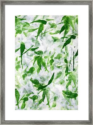 Prosperity Framed Print by Christina Rollo