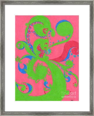 Prosperity Framed Print by Kim Sy Ok