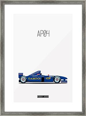 Prost Acer Ap04 F1 Poster Framed Print by Beautify My Walls