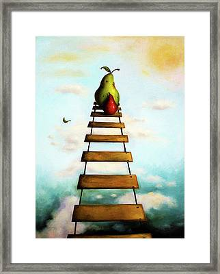 Protecting Baby 6 Framed Print by Leah Saulnier The Painting Maniac