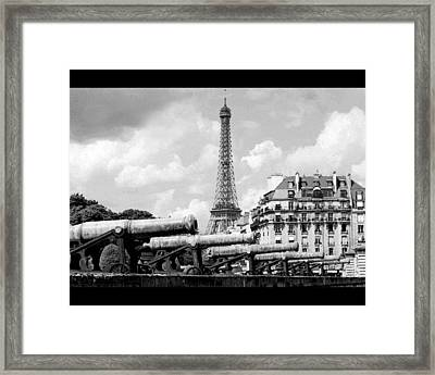 Protecting Paris Framed Print by Don Wolf