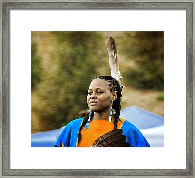 Proud And Strong Framed Print by Cindy Nunn