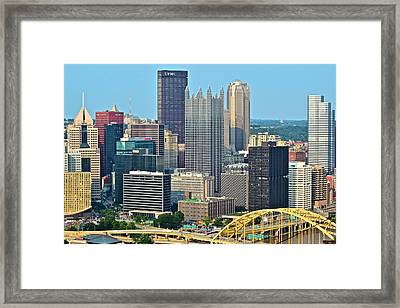 Proud Pittsburgh Framed Print by Frozen in Time Fine Art Photography