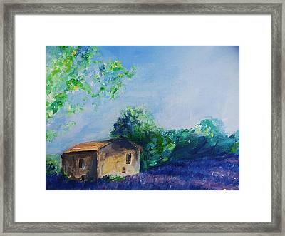 Provence House Framed Print by Eric  Schiabor