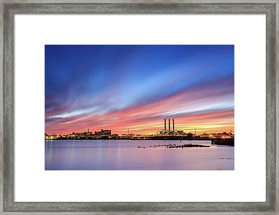 Providence Framed Print by Bryan Bzdula