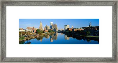 Providence, Rhode Island Framed Print by Panoramic Images
