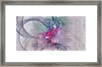 Provocation Symmetry  Id 16097-150839-31703 Framed Print by S Lurk