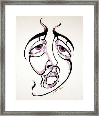 Prozak Moment  Framed Print by P Russell