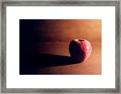 Pruned Apple Still Life Framed Print by Michelle Calkins
